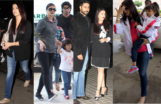 Aishwarya Rai's Casual Looks |  Bollywood Fashion 2015