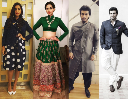 Sonam Kapoor, Arjun Kapoor, Anil Kapoor styled by Rhea Kapoor | Bollywood Fashion - Behind Every Celebrity is a Fashion Stylist