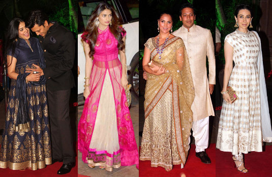 2d2383c7bac What They Wore  A Look at Bollywood Wedding Guest Outfits