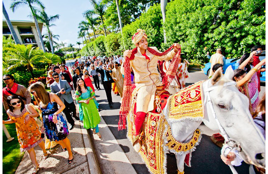 Baraat – The Mobile Party   Spectacular Indian Wedding Traditions
