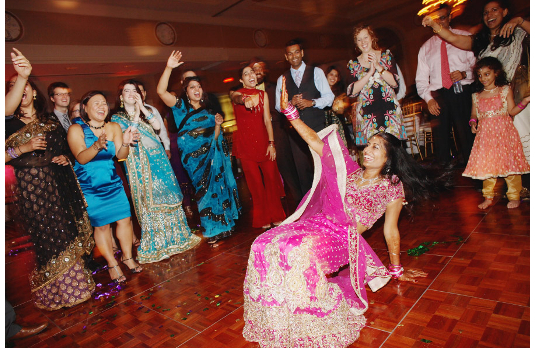 The crazy show-off dancer at an Indian wedding I 6 Types of People You Always Find At An Indian Wedding