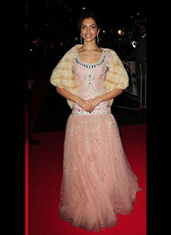 Deepika Padukone's Gown | The Most Over-the-Top Bollywood Fashion