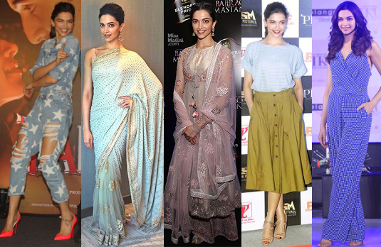 Deepika Padukone's Fashion on the Promo Trail | Bollywood Fashion 2015
