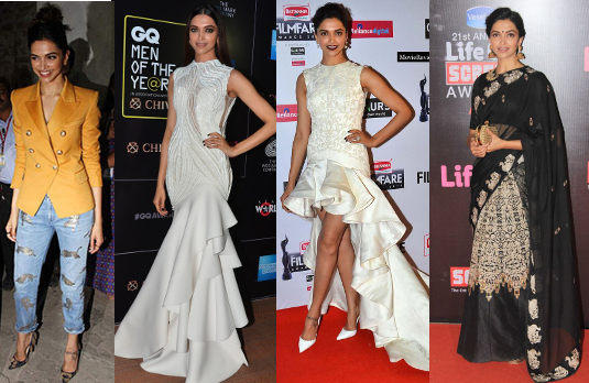 Deepika Padukone's Red Carpet Style | Bollywood Fashion 2015