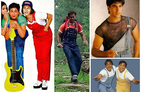 Dungarees in different colours I 10 Indian Fashion Trends We Hope Never Come Back