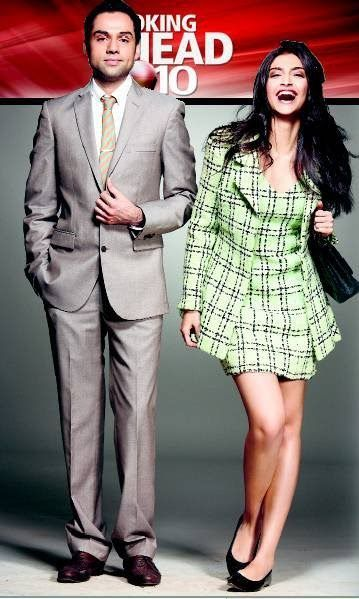 Sonma Kapoor's checked formal outfit from Aisha