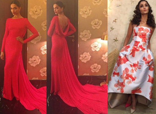 Deepika Padukone and Alia Bhat for Filmfare Awards I Awards Season - The Best of the Bunch So Far