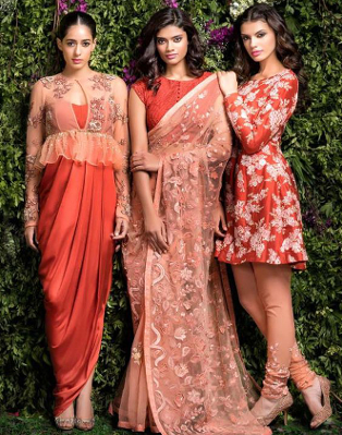 Stunning Indian Designer Dresses For A Wedding Reception Indian