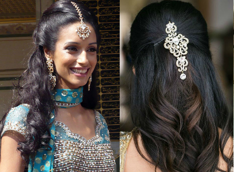 Half And Half Hairstyles | The Best And The Worst Indian Wedding Hairstyles