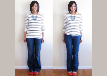 Ill fitting to well fitting image 2 I 5 Fashion Mistakes That Everyone Makes