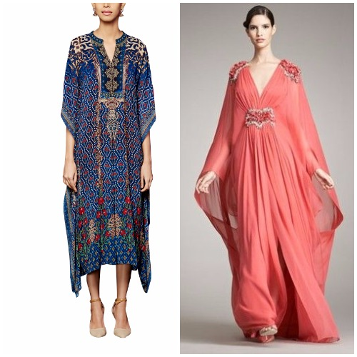 Kaftans as gowns