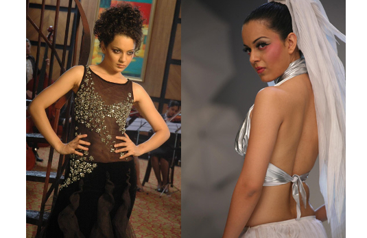 Kangana as Shonali 2 I Fashion in Film - A Look At Stunning Bollywood Costumes in Fashion (2008)