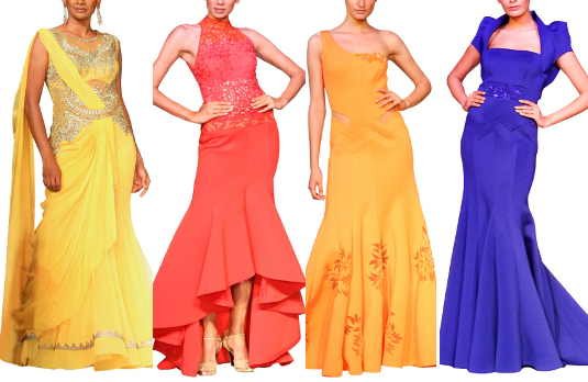Mandira Wirk   Designer Indian Gowns That Are Perfect For Spring