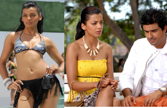Mugdha Godse as Janet I Fashion in Film - A Look At Stunning Bollywood Costumes in Fashion (2008)