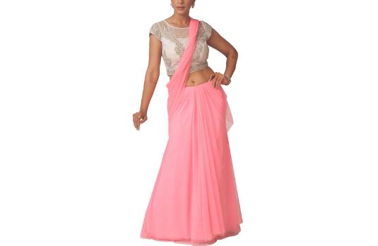 Neha Gursahni's Lehenga Saree I These Fabulous Saree Gowns Will Make Your Life So Much Easier