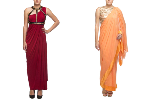 Nidhika Shekhar Saree Gown and Draped Saree I These Fabulous Saree Gowns Will Make Your Life So Much Easier