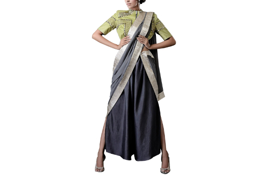 Kanelle's Palazzo Saree I These Fabulous Saree Gowns Will Make Your Life So Much Easier