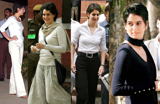 Priyanka Gandhi | Fashionable Indian Women Through History