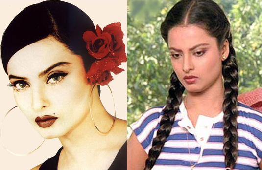 Rekha | Fashionable Indian Women Through History