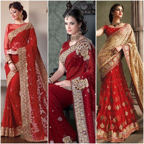Red- The most popular colour of bridal wear in India