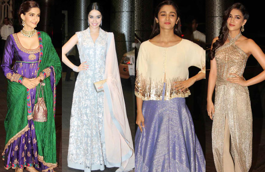 Mira Rajput's Bollywood Wedding    A Look at Bollywood Wedding Guest Outfits