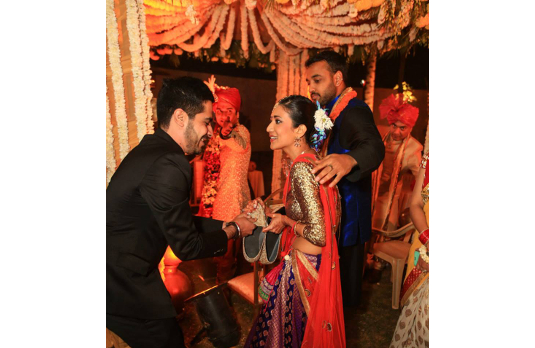 Where are the groom's shoes?   Spectacular Indian Wedding Traditions