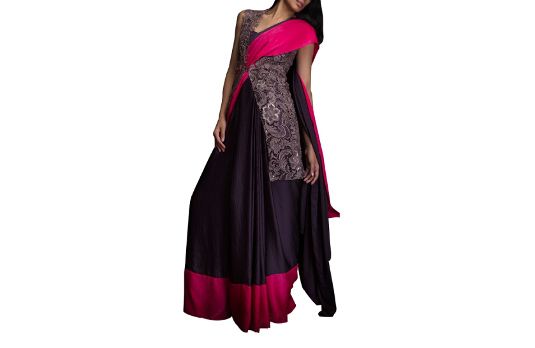 Siddartha Tytler's Saree Gown I These Fabulous Saree Gowns Will Make Your Life So Much Easier