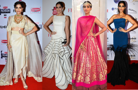 Sonam Kapoor's Red Carpet Looks | Bollywood Fashion 2015