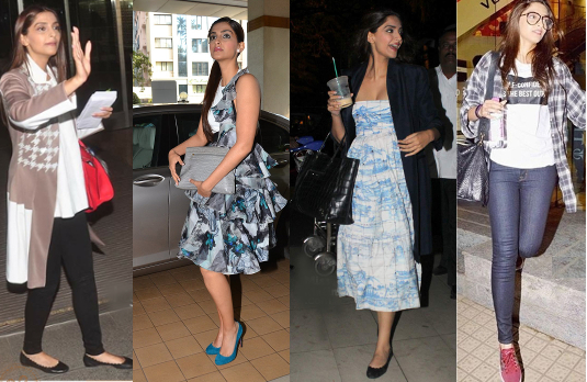Sonam Kapoor's Casual Style | Bollywood Fashion 2015