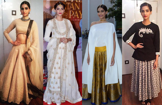 Sonam Kapoor's Promotional Appearances | Bollywood Fashion 2015