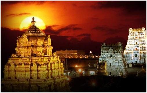 Andhra Pradesh Places to Visit - Tirupati Temple