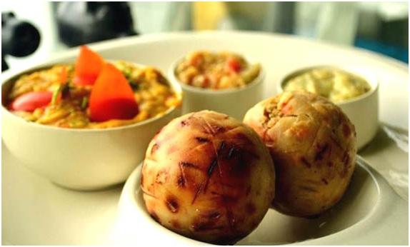 Bihar Food - Litti Chokhaa
