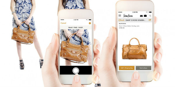 Visual Search Screenshot | Technologies That Will Change the Way You Shop