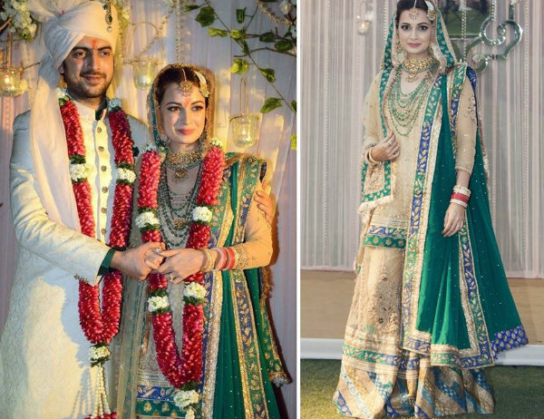 Dia Mirza and Sahil Sangha's Wedding | Bollywood Wedding Inspiration