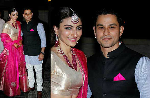 Kunal Soha Wedding Reception | Bollywood Wedding Inspiration