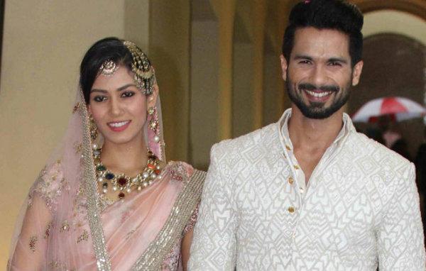 Shahid Kapoor and Mira Rajput's Wedding | Bollywood Wedding Inspiration