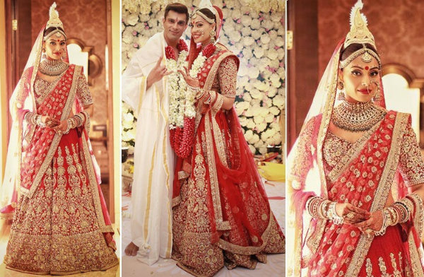 Latest bridal trends given by Indian celebrity weddings