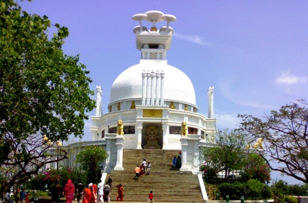 The Splendour of Odisha - Shanti Stupa Bhubaneshwar