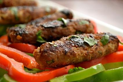 Uttar Pradesh Food - Seekh Kebab