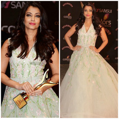 Aishwarya in Georges Hokeibo | Best Dressed Bollywood Celebrities in December