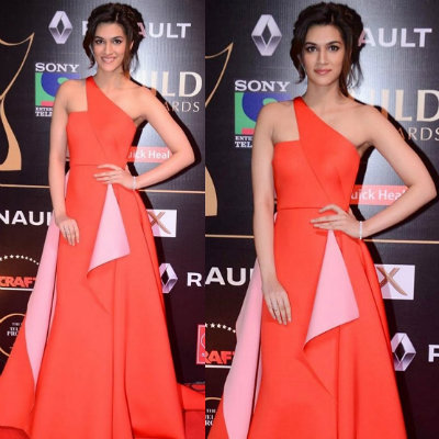 Kriti in Gauri Nainika | Best Dressed Bollywood Celebrities in December