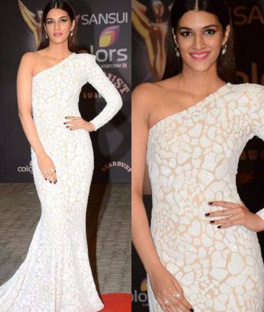 Best Dressed Bollywood Celebrities in December - Kriti in Michael Costello