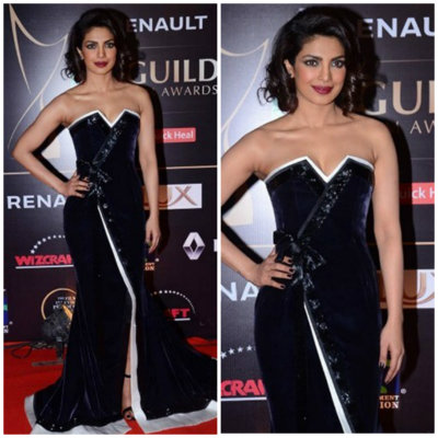 Priyanka in Alexis Mabille | Best Dressed Bollywood Celebrities in December