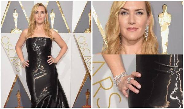 Kate Winslet Wearing Nirav Modi Jewellery   India Shining on the International Red Carpet