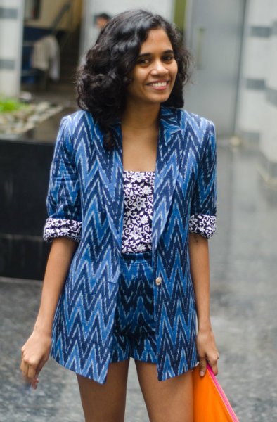 Indian Street Style Fashion Trends - Ikat Mumbai