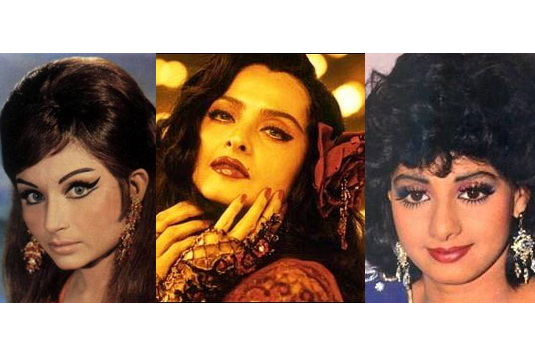 Too much makeup I 10 Indian Fashion Trends We Hope Never Come Back