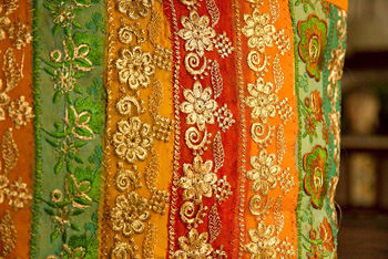 Colourful Aari Embroidery