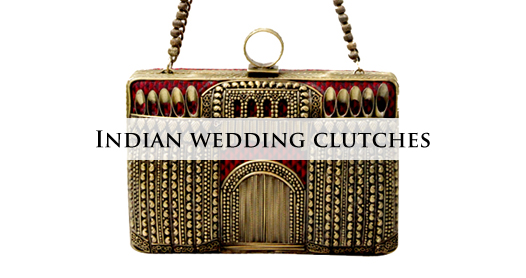 Buy Indian Wedding Clutches and Bags