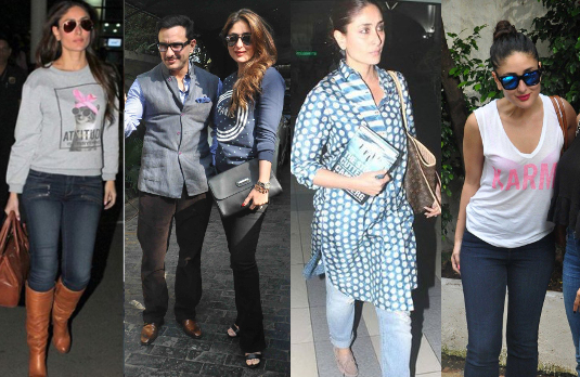 Kareena Kapoor in Casual Attire | Bollywood Fashion 2015