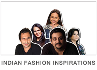 Inspirations and Looks using collections from Indian fashion designers